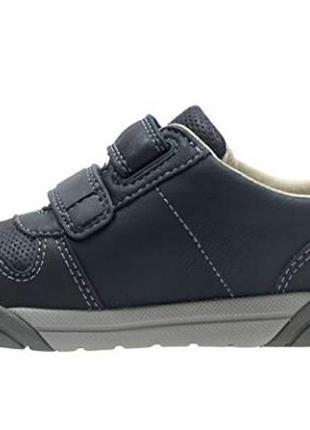 Кожаные мокасины туфли кроссовки с мигалками clarks оригинал