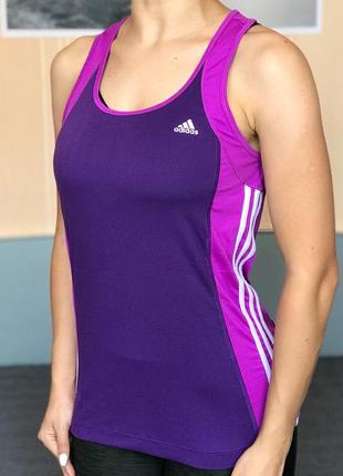 Спортивная майка adidas  размер м майка с топом1 фото