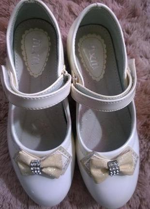 Лаковые туфли mxm размер 32