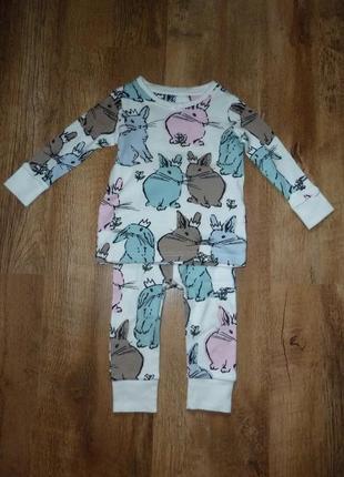 12/2017 next пижама некст на 9-12 мес в идеале, 100% коттон, шри-ланка