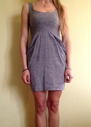 Серое платье miss selfridge