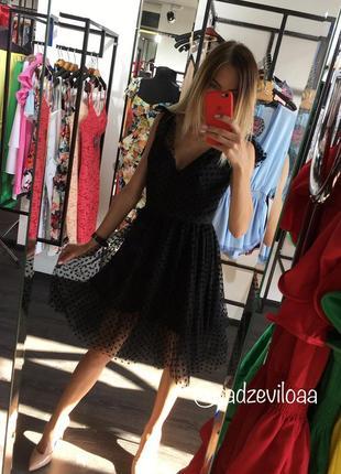 Платье сетка на завязках