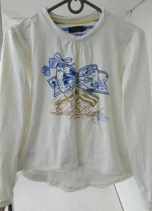 Дизайнерский котоновий свитшот/футболка/лонгслив оверсайз с принтом за полцены