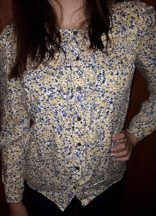 Блузка рубашка вискоза george 10-11 и 13-14лет