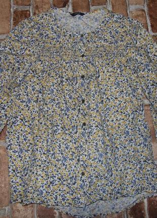 Блузка рубашка вискоза george 10-11 и 13-14лет2