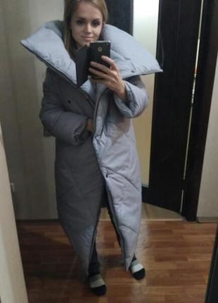 Пуховик одеяло пальто-одеяло