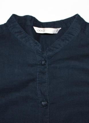 Синяя рубашка oodji
