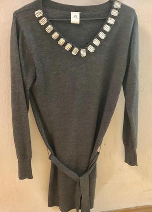 Туника-свитер от armani exchange