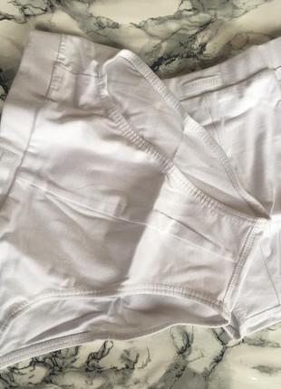Набор комплект трусики плавки белые s