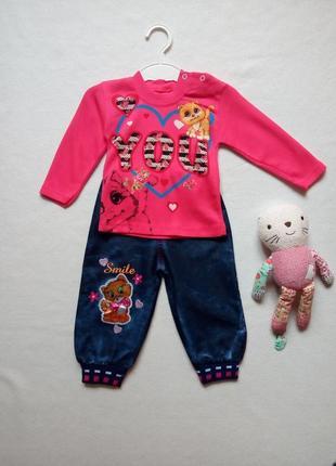 Новый костюмчик на девочку 1-1.5 года