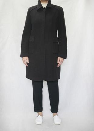 Шерстяное пальто. италия. 100% шерсть