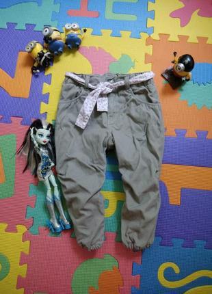 86р h&m демисезонные джогеры джинсы чиносы брюки штаны