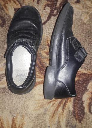 Кожаные туфли 32 размер