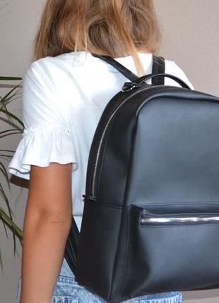 Крутой, стильный рюкзак качественного пошива! экокожа