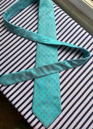 Шелковый галстук castello италия