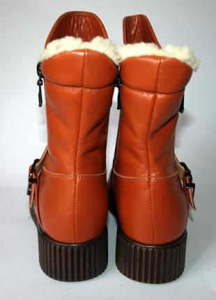 Восхитительные теплющие зимние сапоги deaza 36-41 р. натур. кожа, овчина3