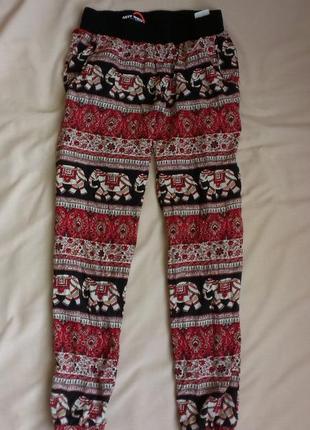 Легкие штанишки из вискозы