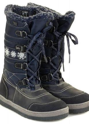 Зимние сапожки lurchi– серия детской обуви бренда salamander, германия. оригинал.