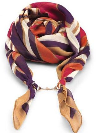 Подарок  при любой покупке многофукциональный шарф  платок  парео