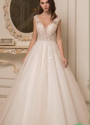 Свадебное платье а силует очень красивое весільна сукня