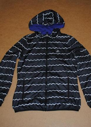 Adidas двусторонняя куртка адидас женская