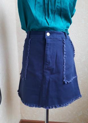 Джинсовая юбка daisy street