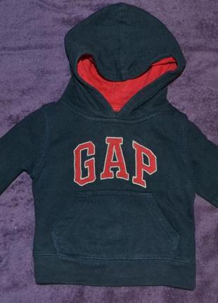 Кофта капюшонка,толстовка,худи с начесом gap