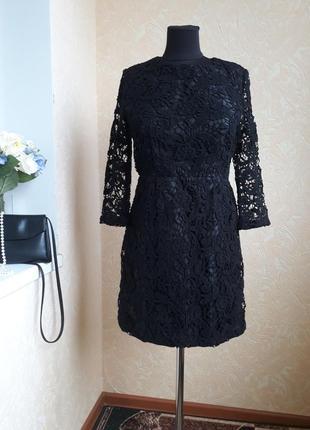 Шикарное круживное платье asos