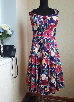 Платье в цветочный принт bhs