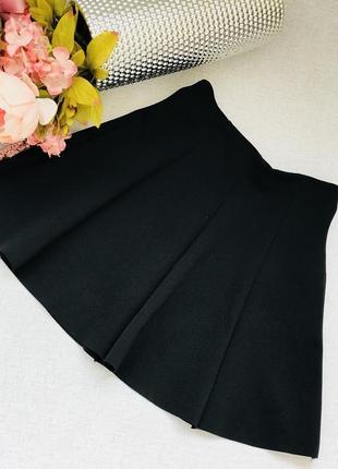 Черная юбка солнце, клеш , трапеция , юбка плиссе от dilvin