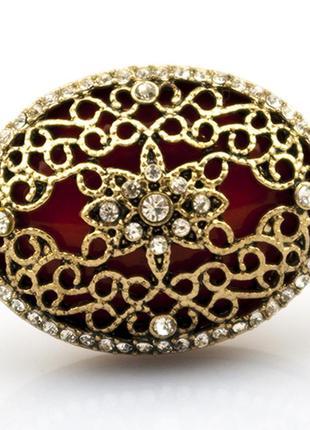 Крупное коктейльное кольцо шик3 фото