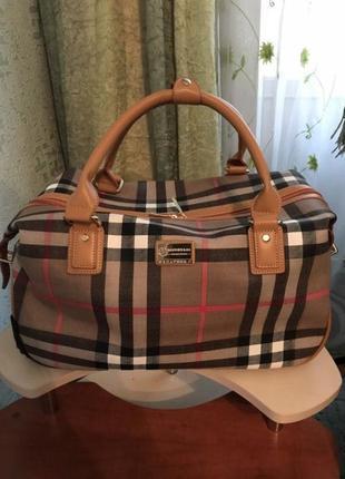 Сумка - чемодан дорожная
