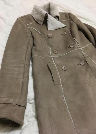 Зимняя дубленка/зимнее пальто