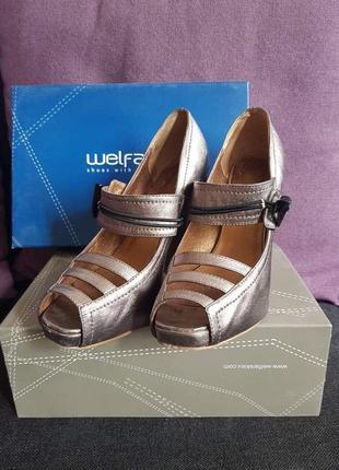 Кожаные туфли welfare