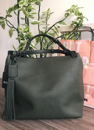 Женская сумка zuiki, италия, супер цена!