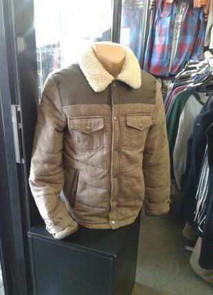 Мужская твидовая куртка s-m