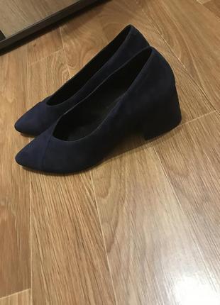 Туфли vagabond замшевые
