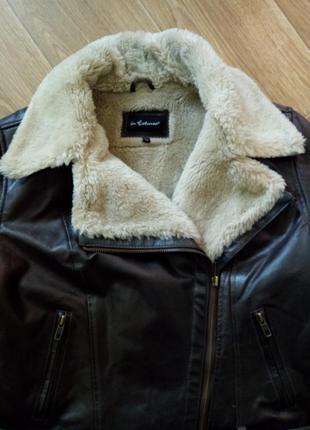 Курточка косуха на меху