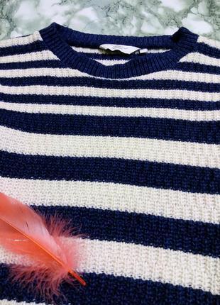 Кофта / свитер вязаный в полоску