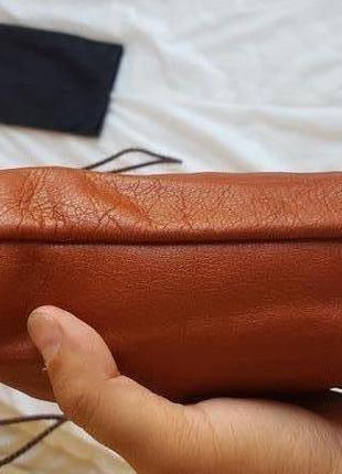 Кожаный мешочек для путешествий и иного