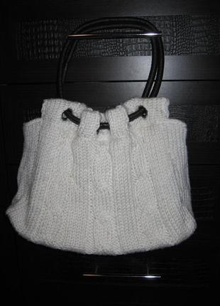 Вязаня сумка top secret