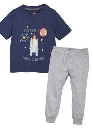 Пижама lupilu на мальчика 2-3 года.