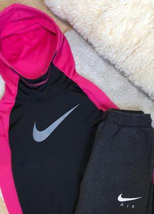 Спортивная кофта nike для тренировок для бега утеплённая