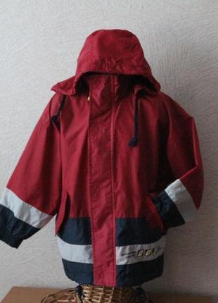 Ten club-ветровка, куртка с капюшоном, 6-7 лет