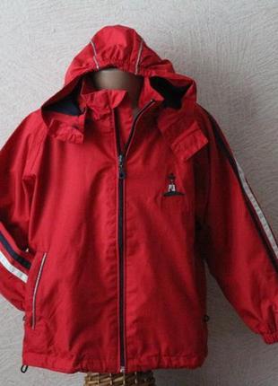 Nautic club- куртка, ветровка с капюшоном 6-7 лет, германия