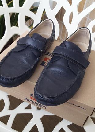 Туфли школьные minimen 40 р.