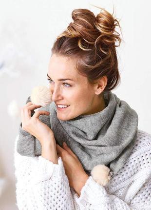 Тёплый шарф, германия