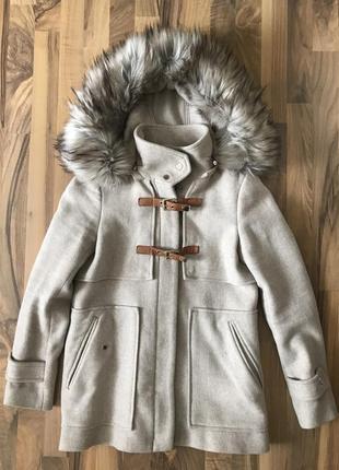 Дафлкот пальто зара