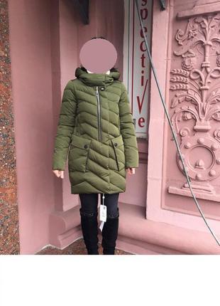 В наличии куртка зимняя s-m молодежная холлофайбер fine baby cat