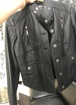 Шкіряна куртка косуха